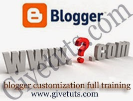 blogger full training