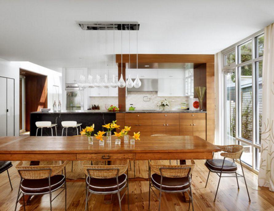 kreativitas interior desain dapur minimalis bernuansa modern terlihat cantik