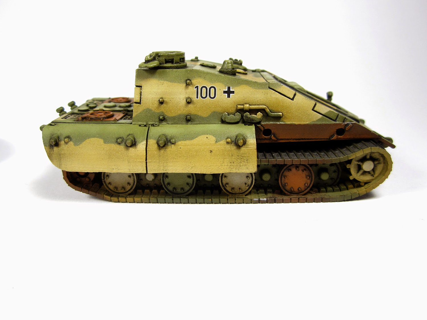 Panzer March!: E-100 Krokodil - Heer46 - E100JK - Pin Wash
