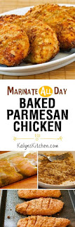Marinate-All-Day Baked Parmesan Chicken [found on KalynsKitchen.com]