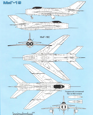 характеристики МиГ-19С