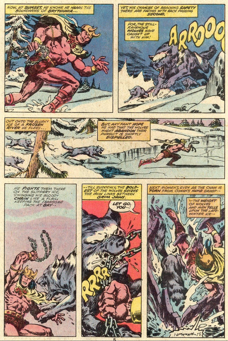 Conan the Barbarian (1970) Issue #92 #104 - English 5