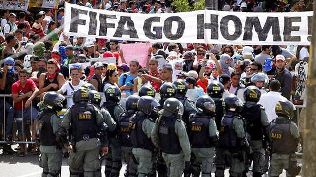 FIFA Go Home!
