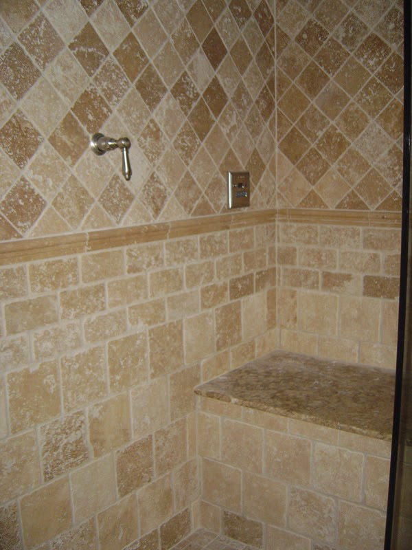 Bathroom tiles design for Tile designs in bathroom