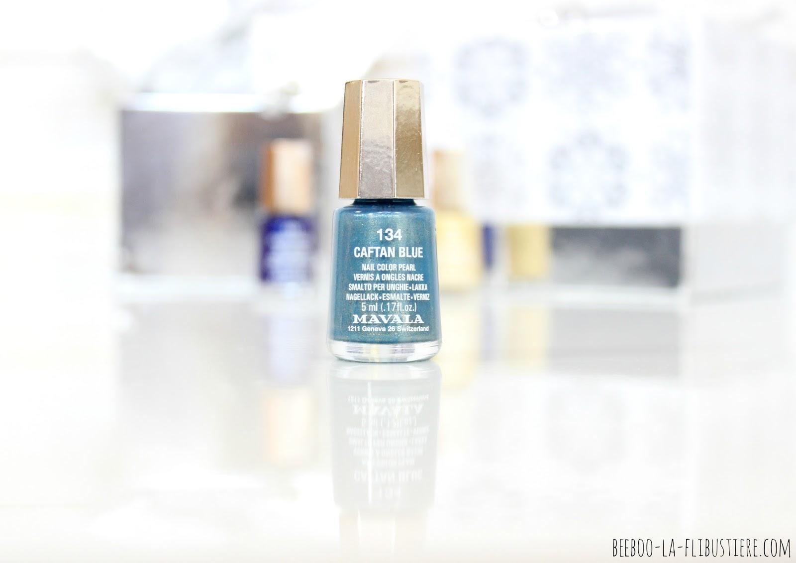 vernis n°134 caftan blue mavala