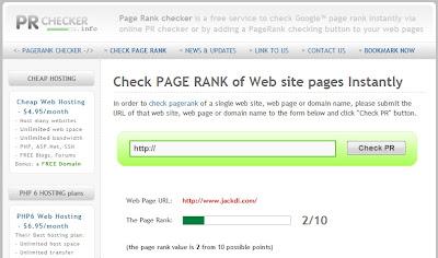 Google PageRank Algo Changes PR2 Websites JackDi.com