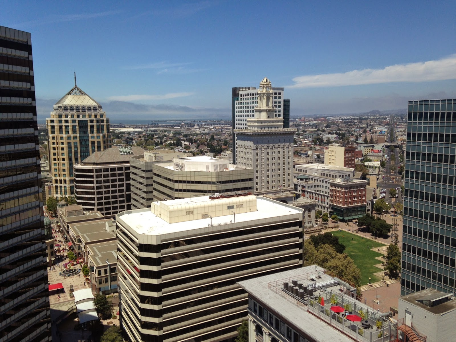 Tamerlane S Thoughts The View Of Oakland From The Top Of