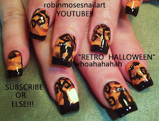 Nail Art How To Halloween Nail Designs Nail Design For Halloween