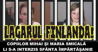 Finlanda a interzis împărtășirea copiilor Smicală de către Episcopul Macarie
