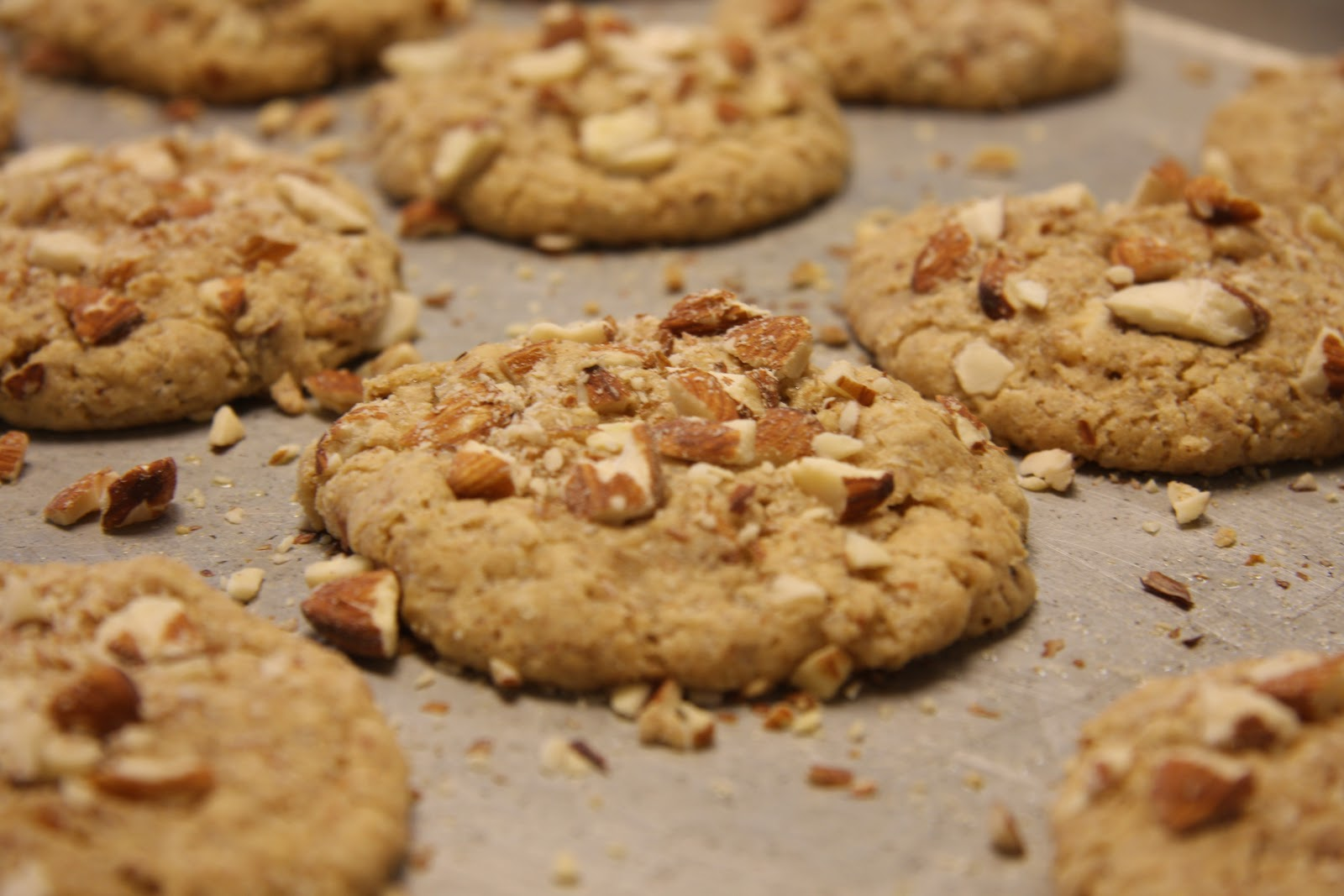Recipe: Almond Cookies | The Om Diary