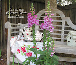 Join Me for Tea in the Garden- September 19 and 26!