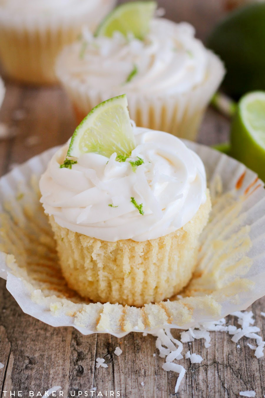 coconut lime cupcakes for the cupcakes zest of two limes