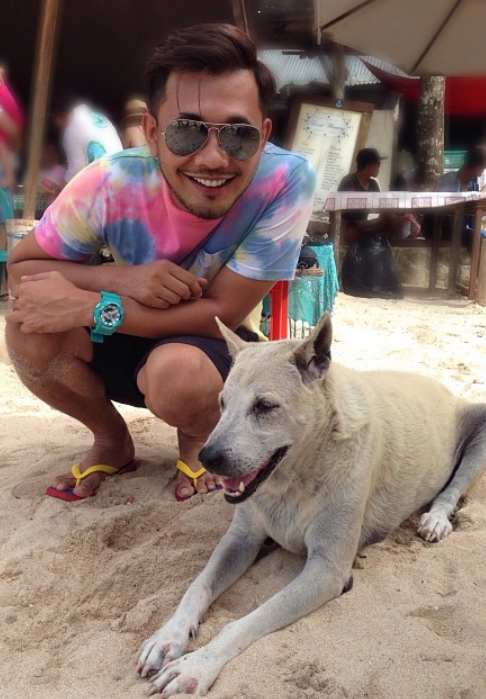 Bergambar Dengan Anjing, Karl Shafek Akui Sukakan Haiwan