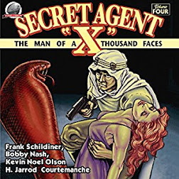 NEW! SECRET AGENT X VOL. 4 AUDIO