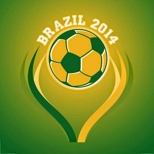 Vector Brazil Soccer Layout