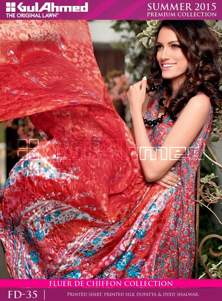 Latest gul ahmed summer collection 2015
