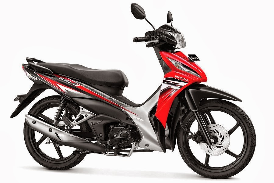 Warna Honda Revo CW PGM-FI merah