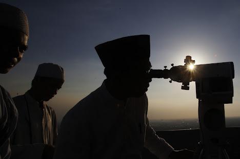 menentukan awal bulan suci Ramadhan, Jakarta