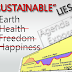 Why ''Sustainable'' Earth, But Not Sustainable Human Health and Freedom?