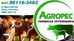 Agropec - Farmácia Veterinária, Consultoria Veterinária e Centro de Estética Animal – Pet's