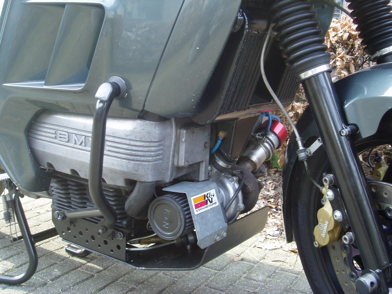 Dd Motorcycles Bmw K 100 Rt Turbo