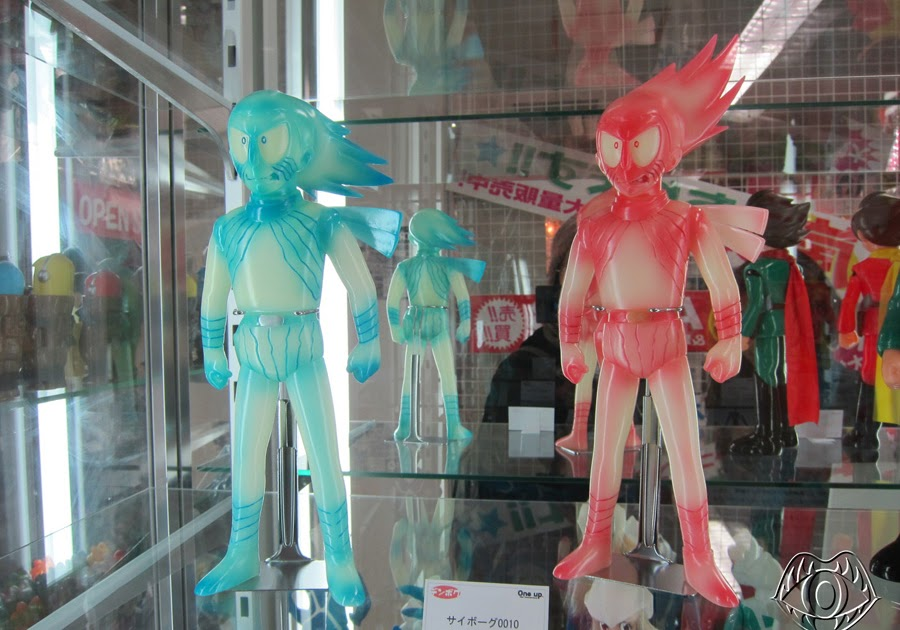 Kaiju Korner Denboku Cyborg 009 Figures At One Up Akiba Zone
