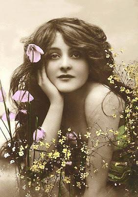 Imagenes antiguas de mujeres para imprimir