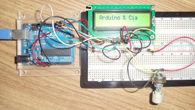 LM35 e Arduino Protoboard