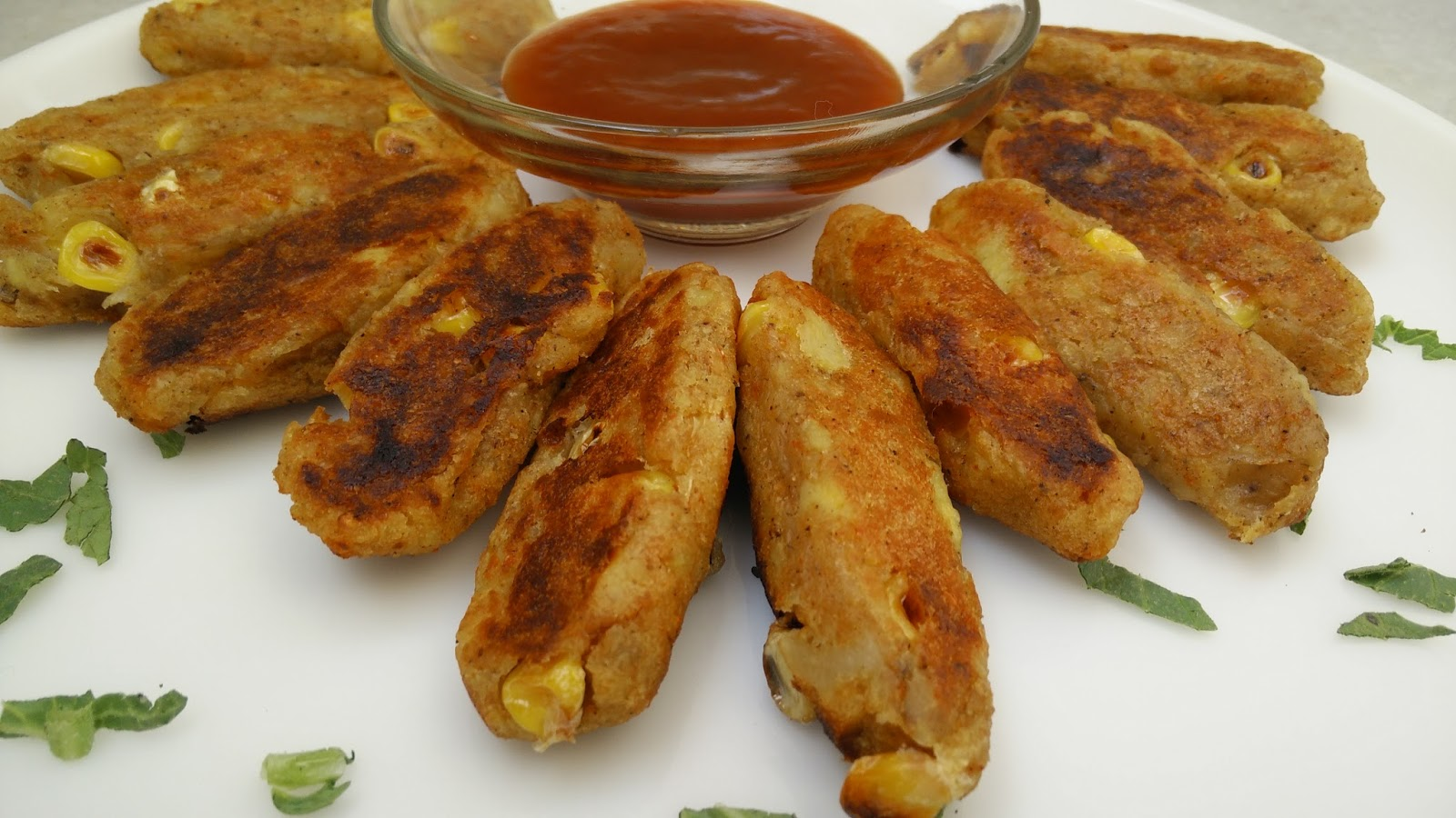 Recipe Which Can Be Prepared Anytime But Generally These Are Deep Fried To Avoid Oil We Have Corn Potato Kebabs In Lg Convection Microwave