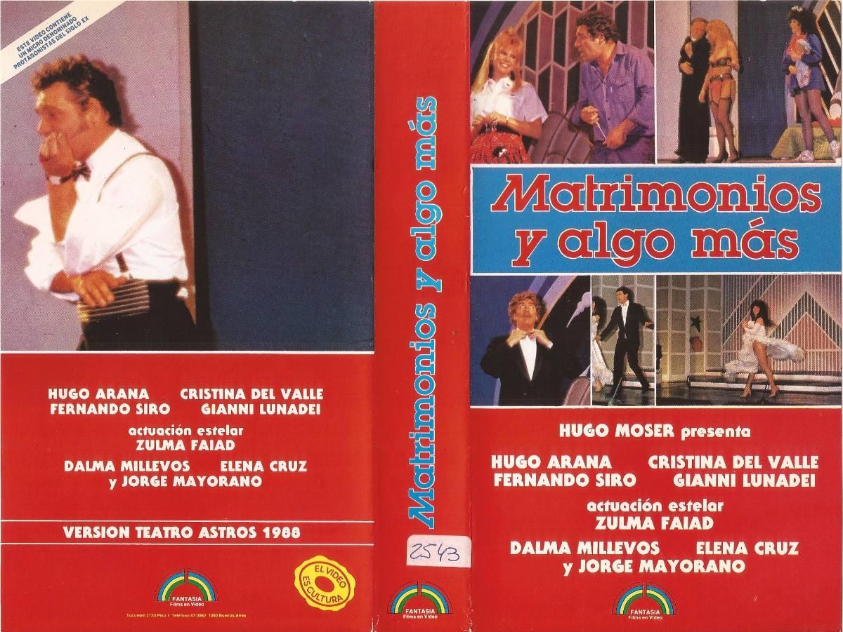Matrimonio Y Algo Mas : Cine de coleccion nacional enero