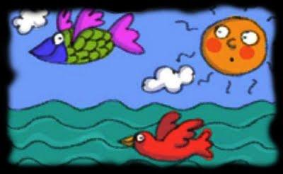 peces que vuelan