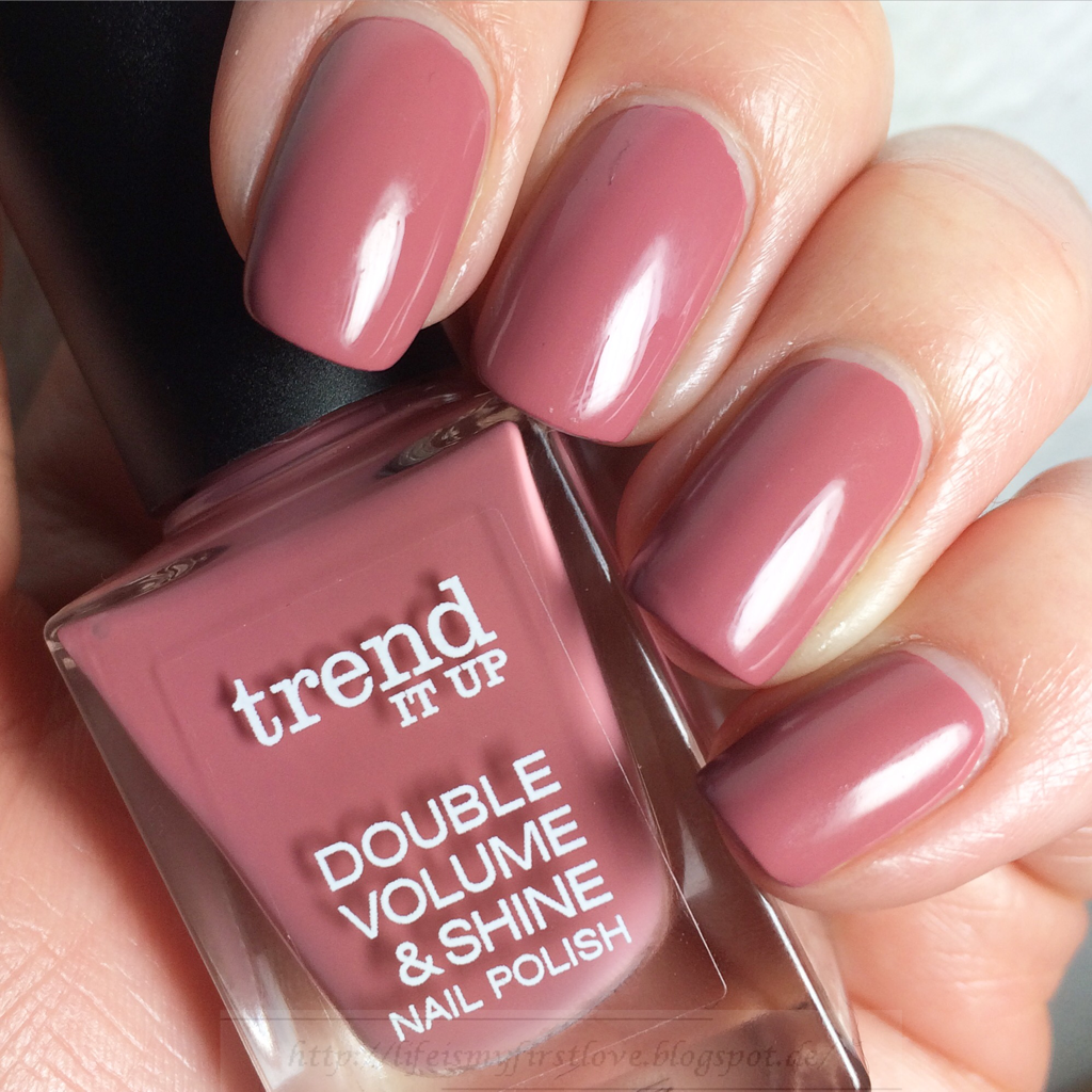 life is my first love: [nails] trend IT UP Double Volume & Shine ...