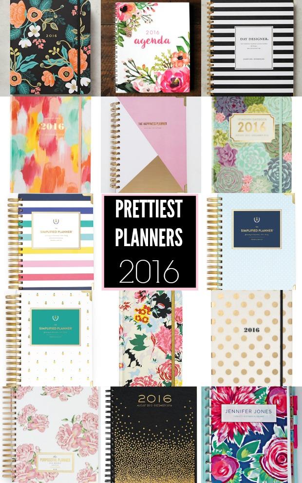 Prettiest Planners 2016 | #getorganized #schedule #planner #organizer