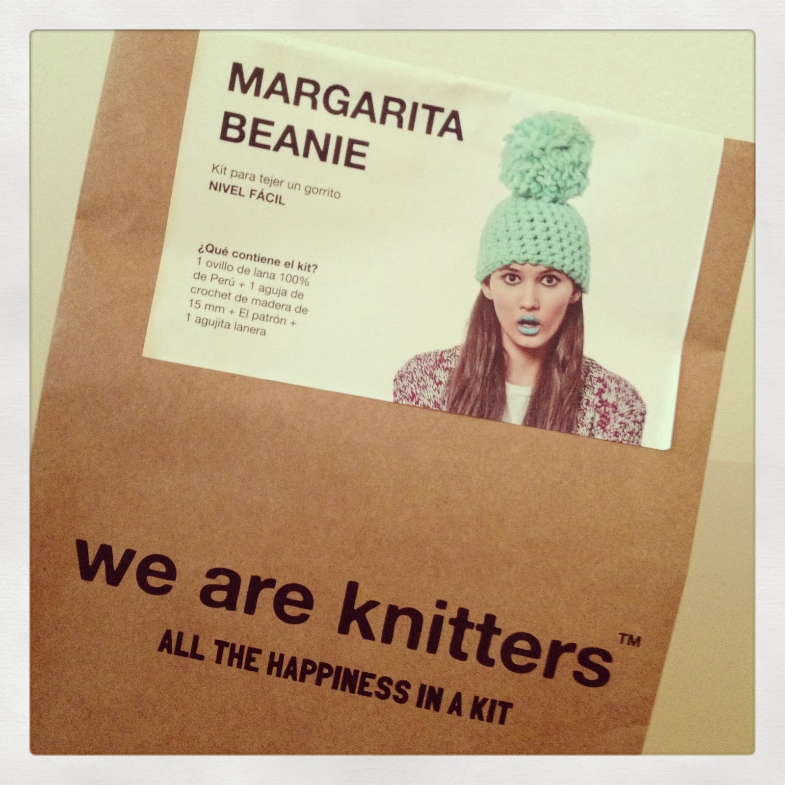 Gorro Margarita Beanie de WE ARE KNITTERS
