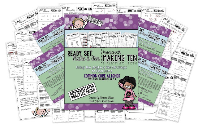 https://www.teacherspayteachers.com/Product/Using-the-Make-a-Ten-Strategy-to-Add-Differentiated-2230767