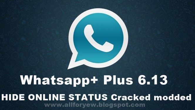 whatsapp+ plus 6.13