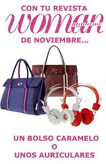 Regalos Revistas Woman Noviembre 2012