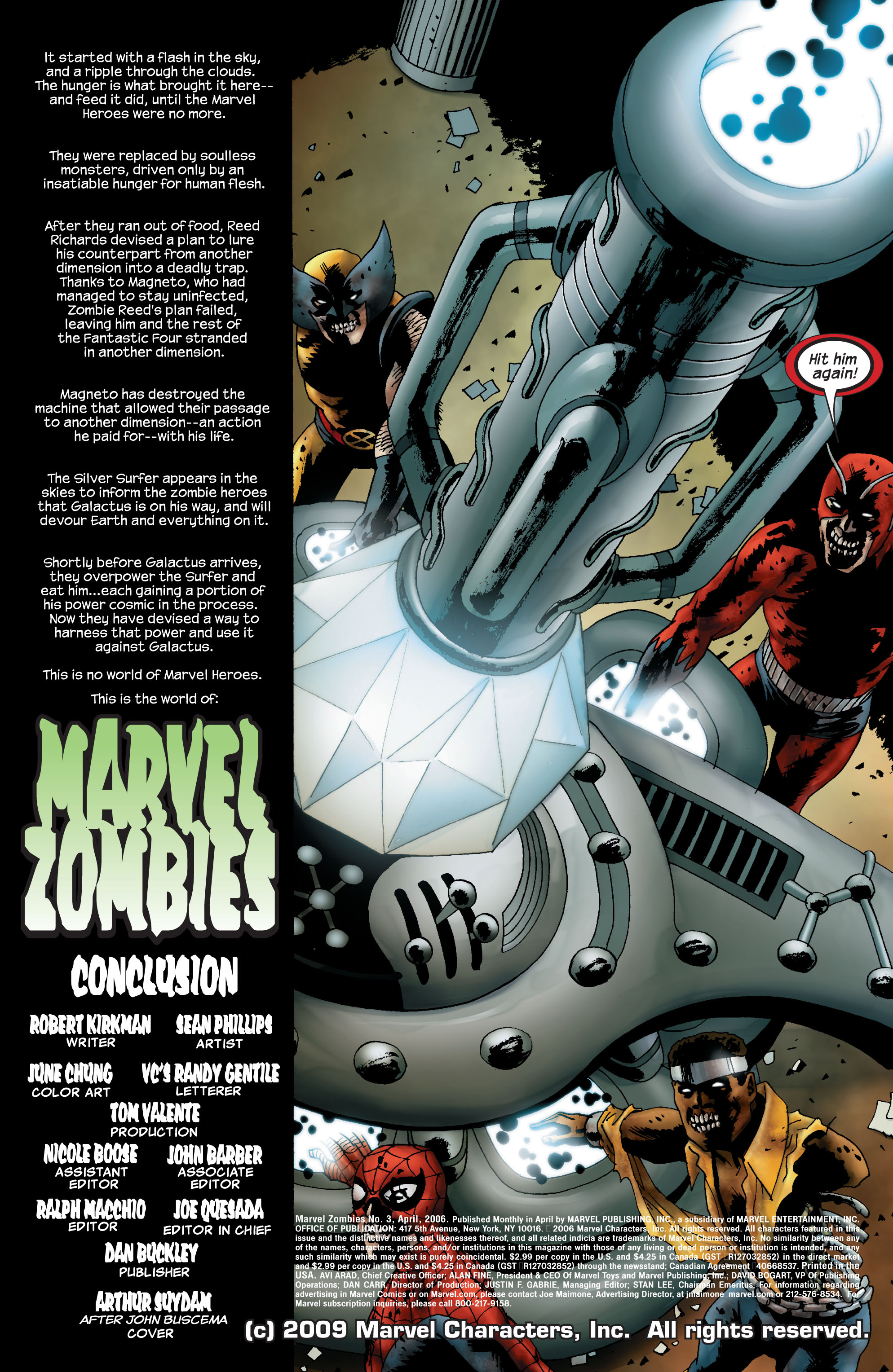 Marvel Zombies (2006) Issue #5 #5 - English 2