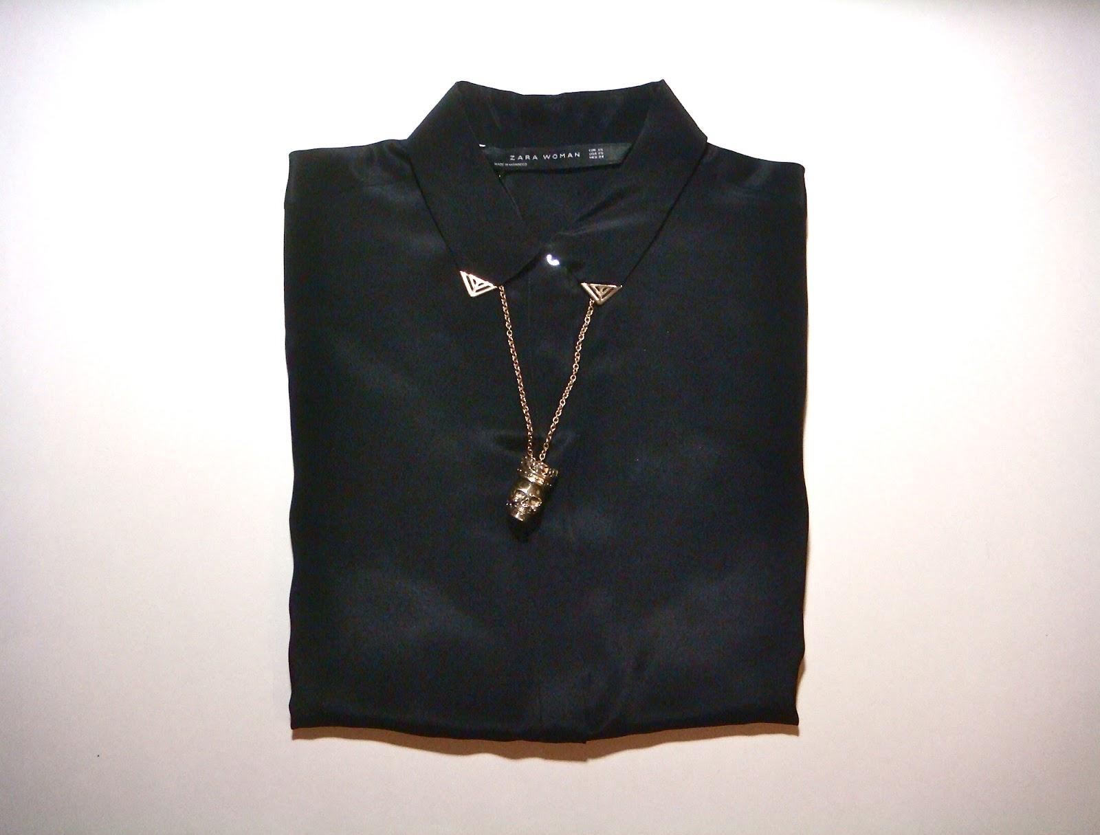 Zara Shirt Blouse 32