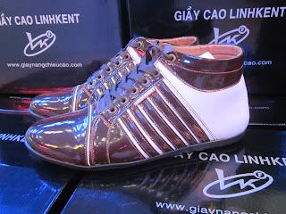 Giày tăng chiều cao Linh Kent GT188. 65