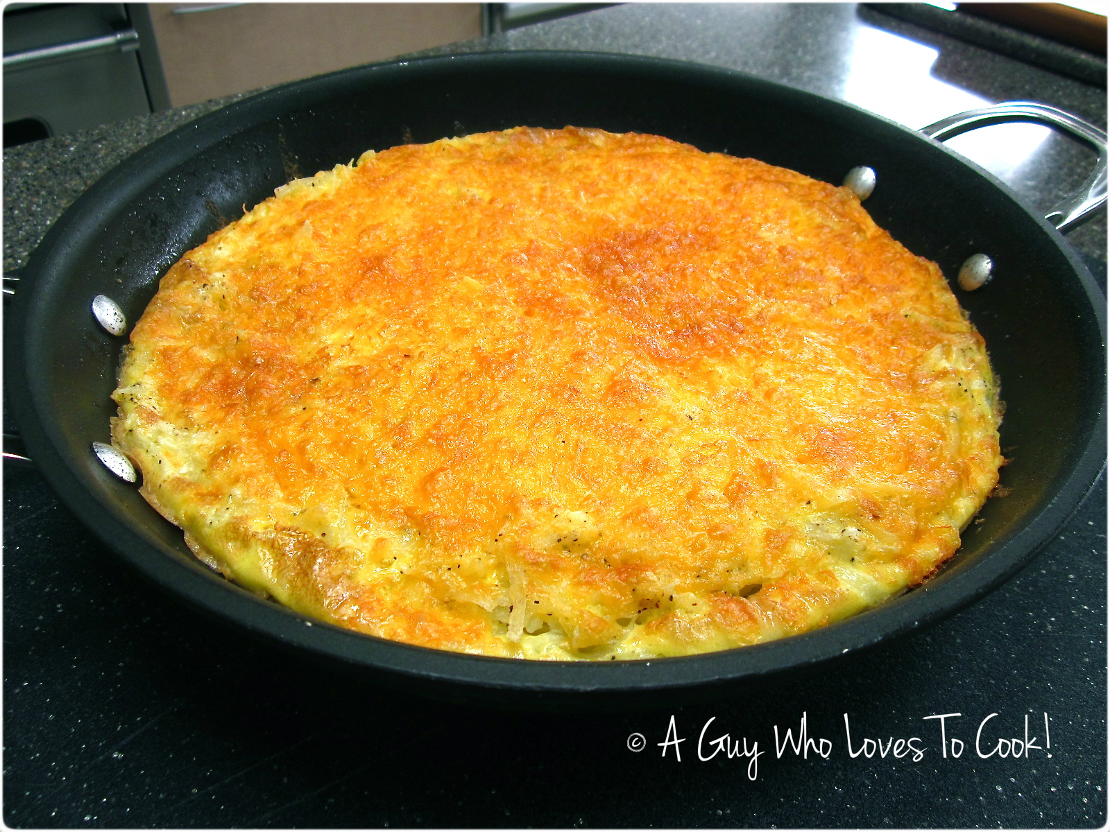 Frittata in pan