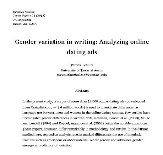 Online dating advantages essay