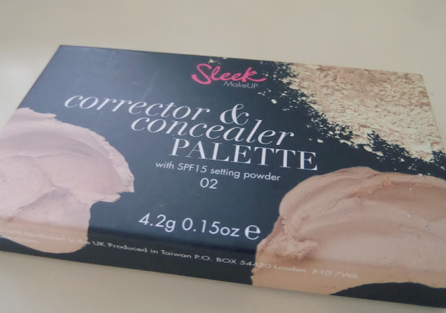 Sleek Corrector and Concealer Palette