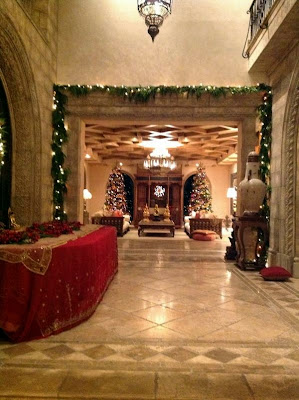 Cher's home - decorated for Christmas