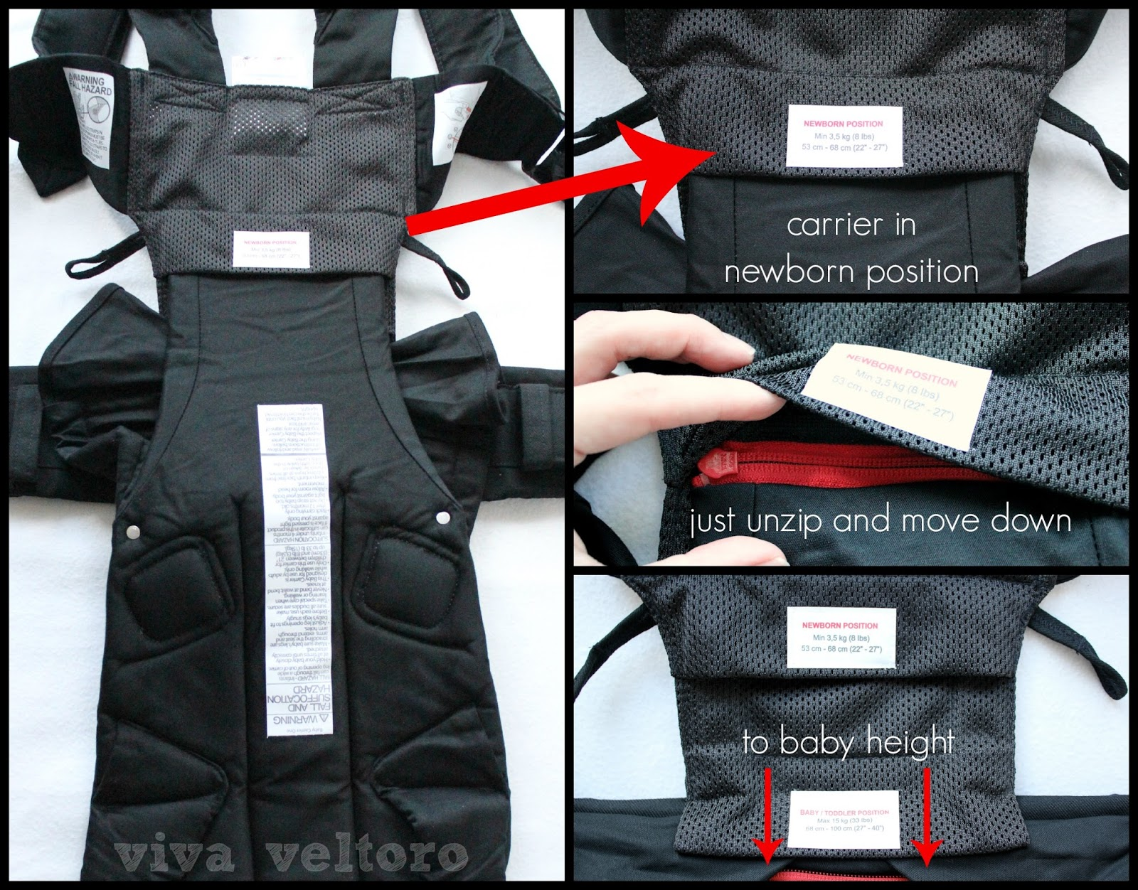 baby bjorn carrier one review viva veltoro. Black Bedroom Furniture Sets. Home Design Ideas