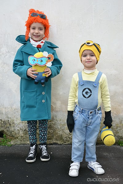 Make your own refashioned from Despicable Me costumes!