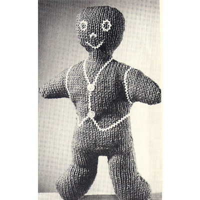 Knitting Pattern For Gingerbread Man : Vintage Knit Crochet Shop Talk: Jiffy Knit Patterns, Book 158