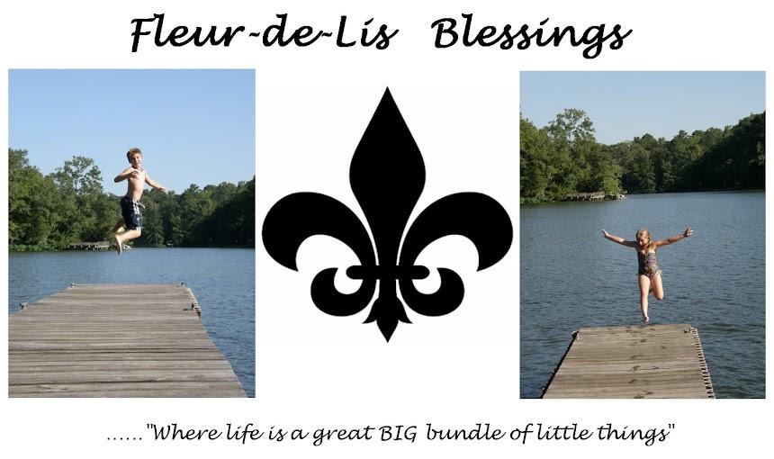 Fleur-de-Lis  Blessings