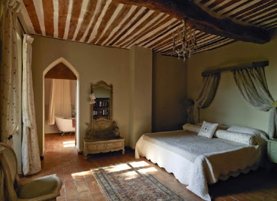 Bedroom-Fairy Tale Castle on the French Riviera, Bedroom Decorating Ideas