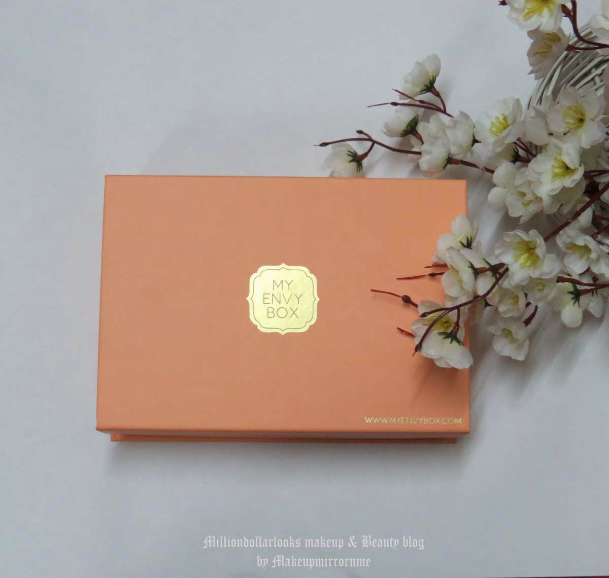My Envy Box April Edition Unboxing, Review, Pictures & Price, My enxy box review, My envy box april 2015 review, Beauty box available in India, Best beauty box  subsription available in India, Indian beauty blogger, Indian makeup and beauty blog, Indian makeup blogger